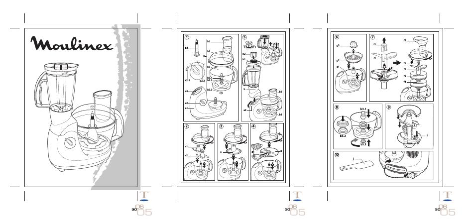 Кухонные комбайны Moulinex