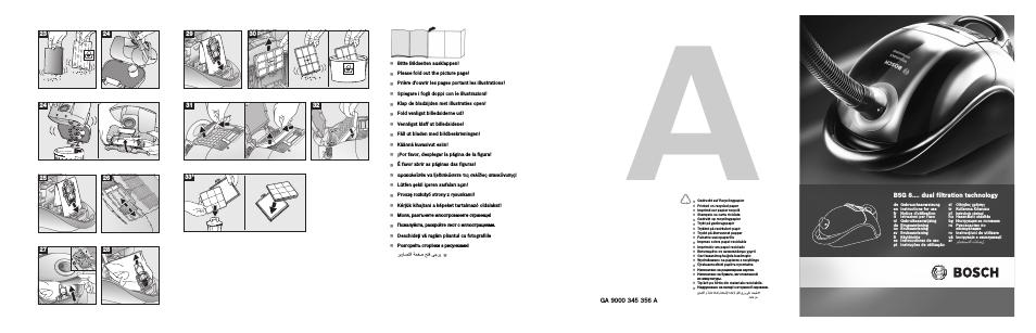dual filtration technology de Gebrauchsanweisungen Inst.